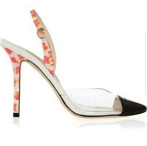 Sophia Webster pvc shoes high heels sandals mules